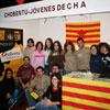 Campaña choben, por las cinco comarcas aragonesas excluidas del PEIT