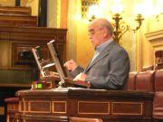 Labordeta defiende a las cinco comarcas aragonesas en el congreso