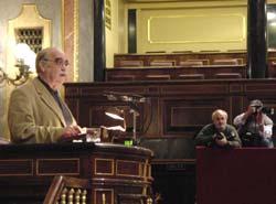 Pregunta de CHA en el Congreso de los Diputados y , un año después, el Gobierno  central sin responder....