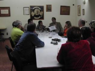 Primer acto Campaña de CHA, con las cinco ganamos todos, en Brea de Aragón en la comarca del Aranda